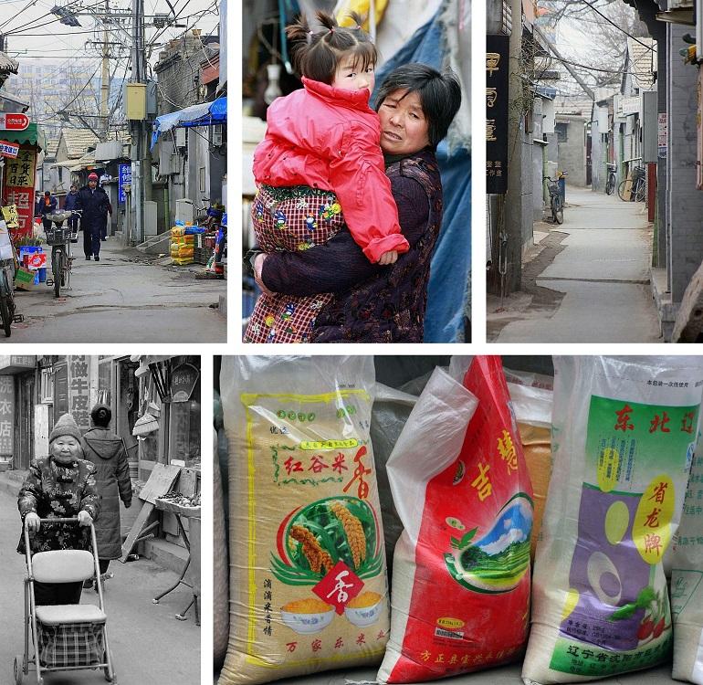 Hutong in Peking