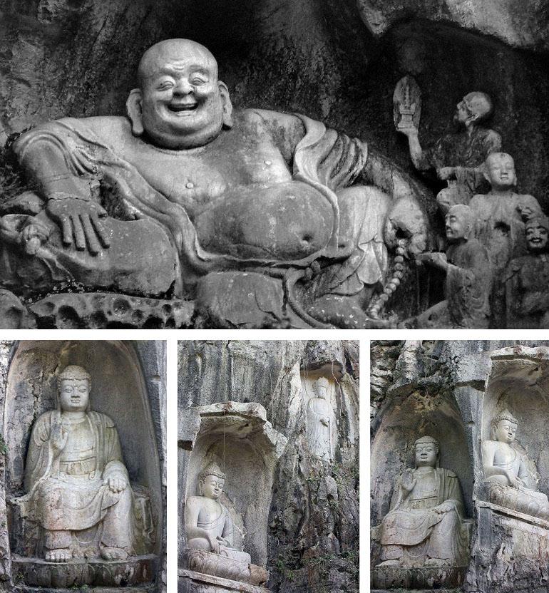 Kloster in Hangzhou
