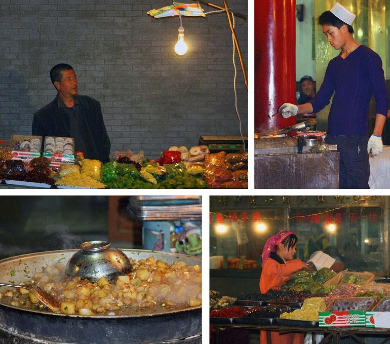 Moslemviertel in Xi'an