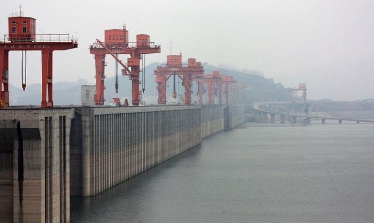 Staudamm, Jangtse