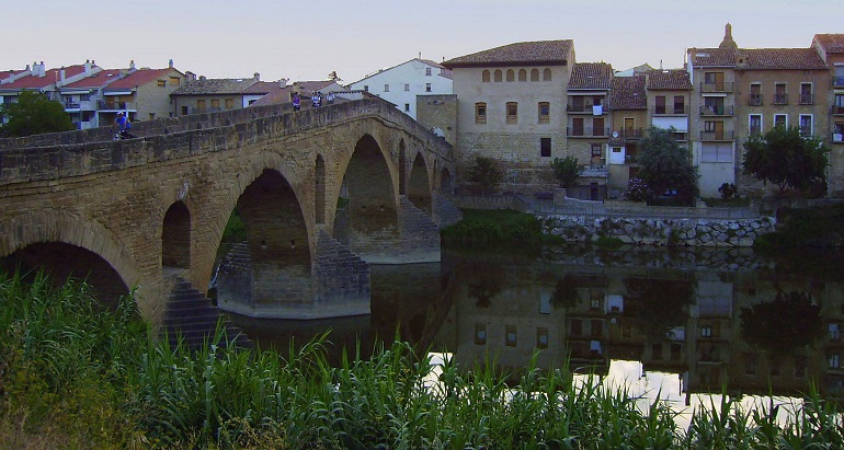 Brücke in Puente la Reina