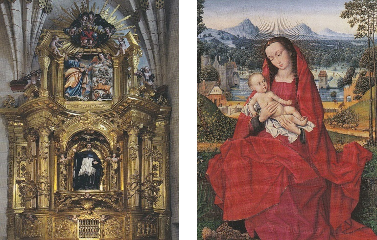 Altar in der Kathedrale von Burgos