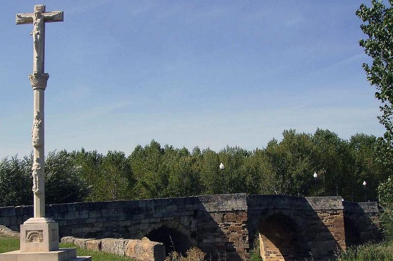 Brücke in Sahagun