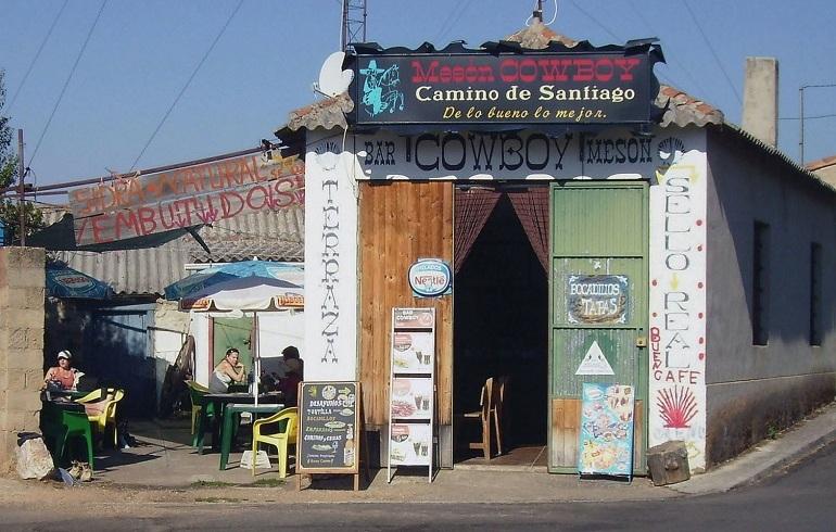 Cowboy Bar in El Ganso