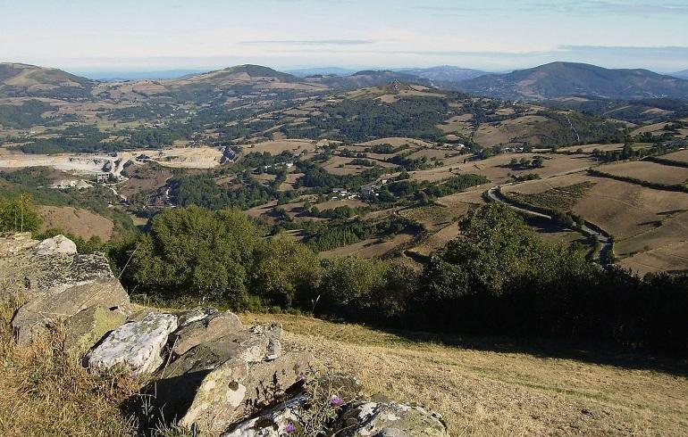 Der höchste Punkt des Camino Francés