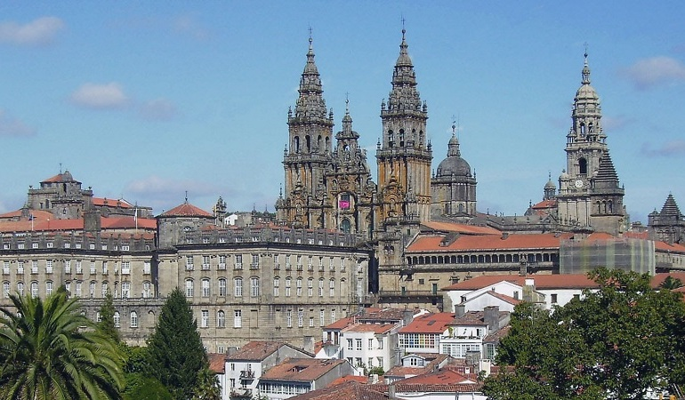 Kathedrale in Santiago de Compostela