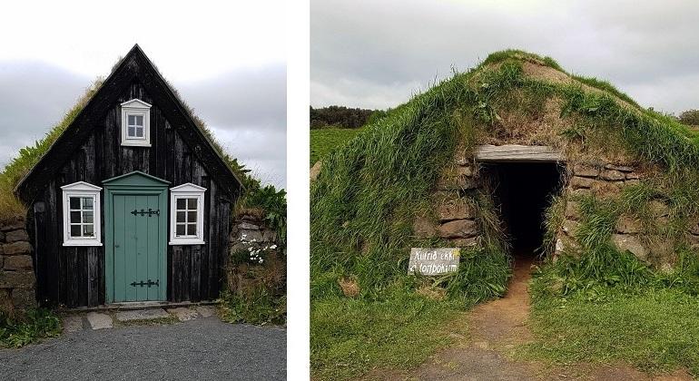 Freilichtmuseum in Reykjavik