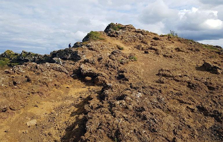 Wanderung um den Kerid-Krater