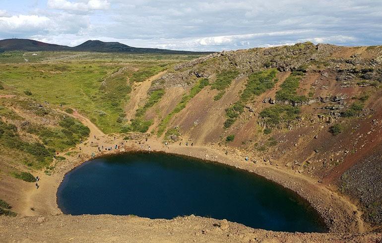 Kerid-Krater