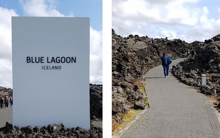Eingang zur Blauen Lagune