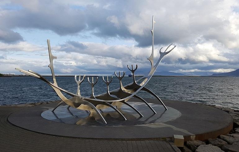 Sunvoyager, Reykjavik
