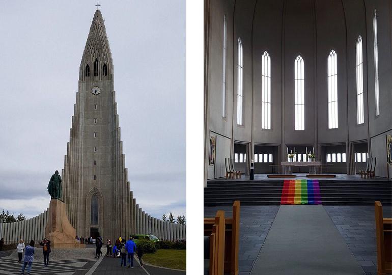 Halgrimskirche, Reykjavik