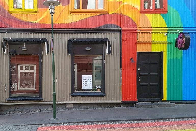 Regenbogenhaus, Reykjavik