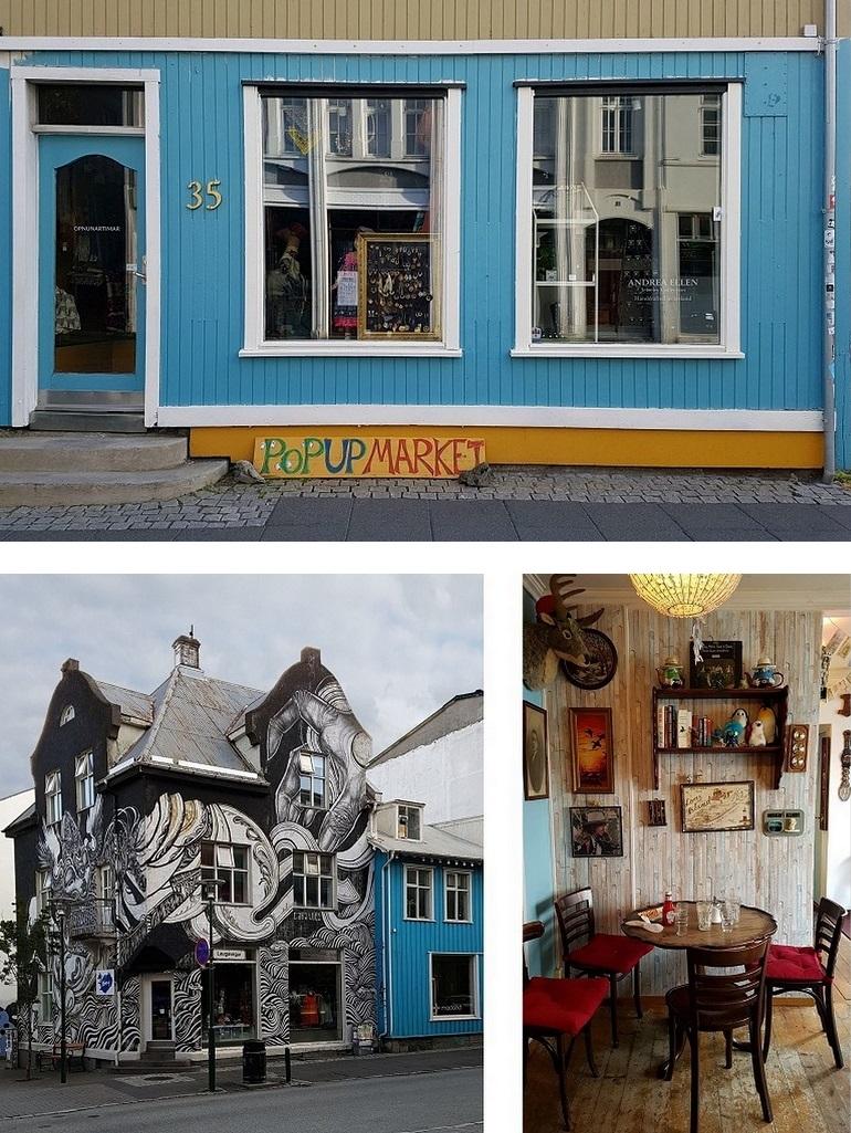 Cafés in Reykjavik