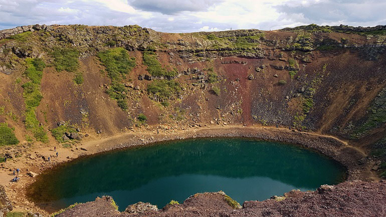Vulkankratersee