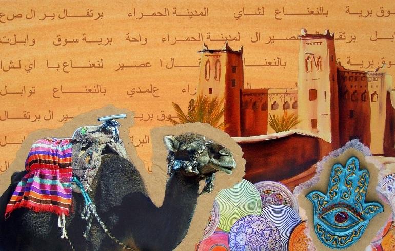 Marokko-Collage
