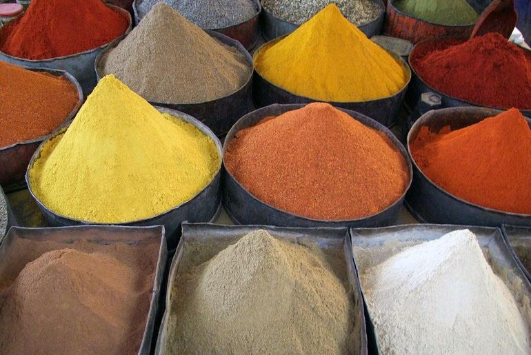 Markt in Rissani, Marokko