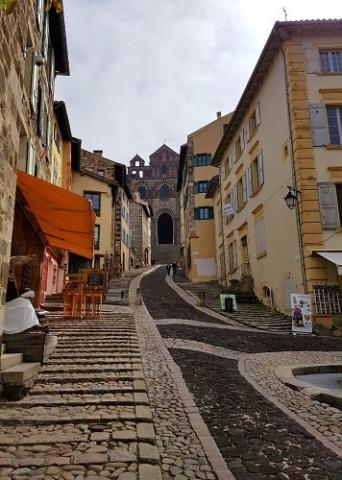 Weg zur Kathedrale