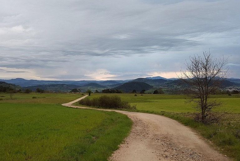 Auf dem Weg nach Le Monastier-sur-Gazeille