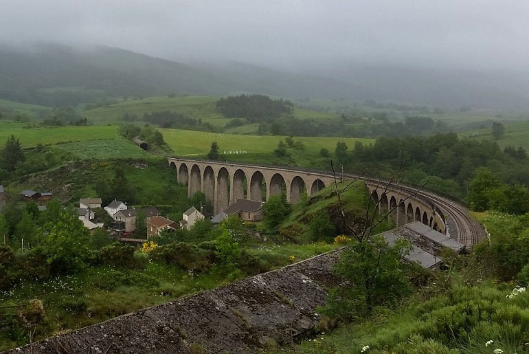Brücke nach Chasseradès