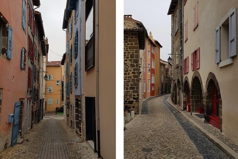 Kleine Gassen in Le Puy-en-Velay