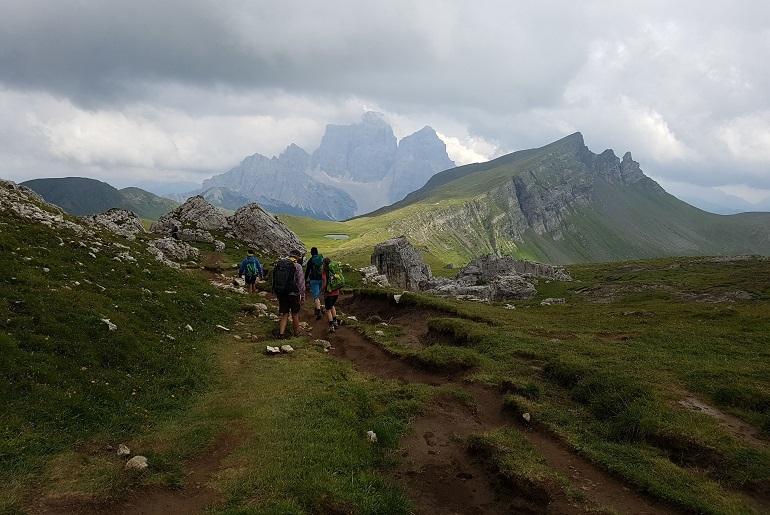 Auf dem Dolomiten-Höhenweg 1